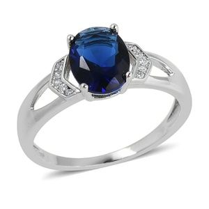 Jewelry - SAPPHIRE STERLING SILVER RING